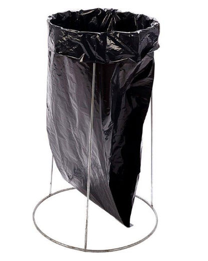 bin ring refuse sack holder