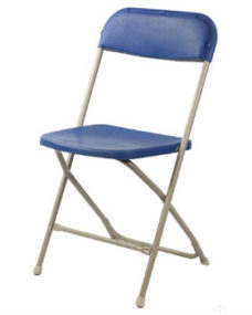 Folding Blue Chair