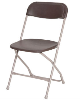 Folding Chair Brown
