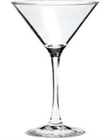 Martini Cocktail Glass 8oz (16 Glasses)