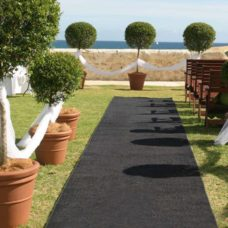 Black Carpet 6 Metre